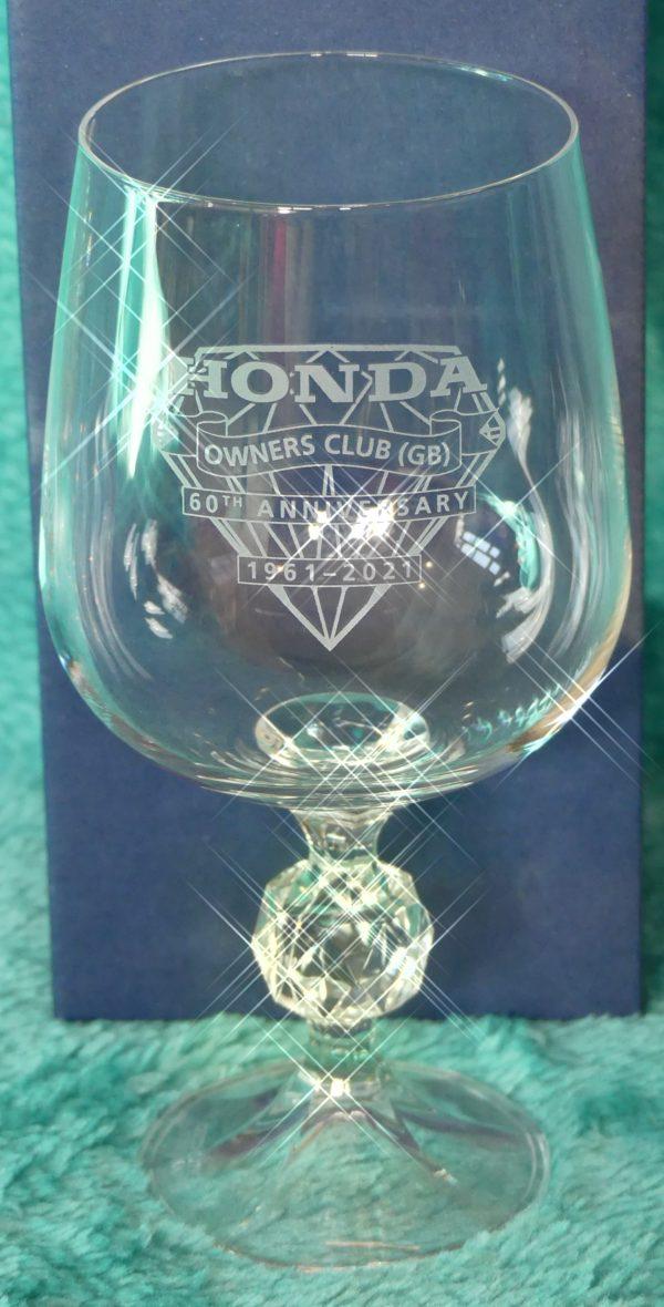 Glassware 60th Goblet