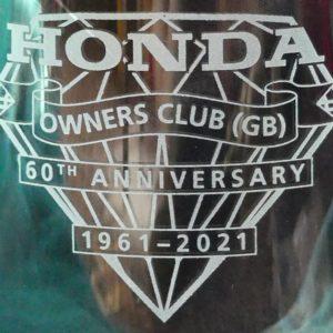 Glassware 60th Logo